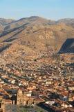 Viva EL Περού, Cuzco Στοκ φωτογραφία με δικαίωμα ελεύθερης χρήσης