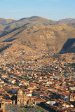 Viva El Перу, Cuzco Стоковая Фотография RF