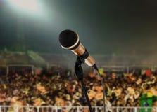 Viva en concierto Foto de archivo libre de regalías