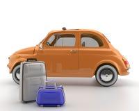 Viva Italia 500 - transport Ilustracja Wektor