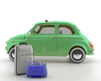 Viva Italia 500 - Transportation. A classic car. Very suitable for shipments within the city Stock Photos