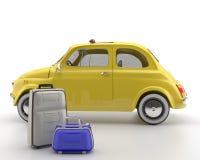 Viva Italia 500 - transporte Imagen de archivo libre de regalías