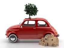 Viva Italia 500 - transporte Imagen de archivo
