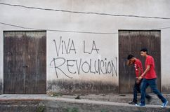 Viva la Revolucion Stock Photography