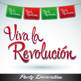 Viva la revolucion - Long live the revolution Royalty Free Stock Images