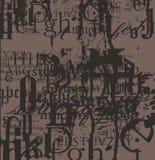 Viva La-Schrifttypalter Stockbilder