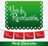 Viva larevolucion - bo länge revolutionen Royaltyfria Bilder