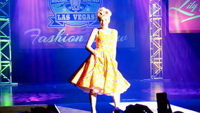 Viva Las Vegas Fashion Show 2016, Las Vegas, USA, stock video footage