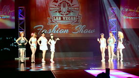 Viva Las Vegas Fashion Show 2016, Las Vegas, USA, stock footage
