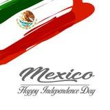 Viva México ilustração stock