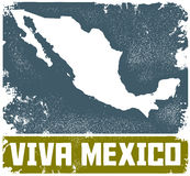Viva Mexico stock illustratie