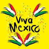 Viva Mexico, royalty-vrije illustratie
