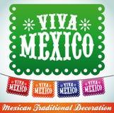 Viva Mexico - feriado mexicano Fotos de Stock Royalty Free