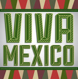Viva Mexico - mexican holiday Stock Photos