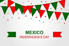 Free Viva Mexico. Mexico Independance Day 16th September. Stock Image - 122227861