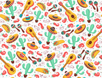 Viva mexico poster vector illustration