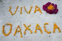 Viva Oaxaca Sign Stock Image