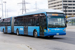 Viva Transit or York Region Transit in Toronto Stock Photo
