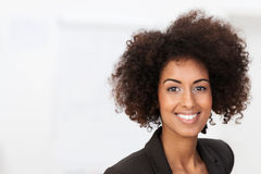 Vivacious African American businesswoman Stock Photo