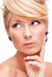 Vivacious young beauty Royalty Free Stock Images