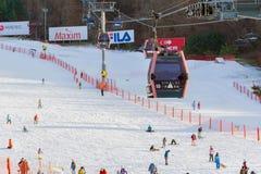 Vivaldi parkerar Ski Resort Royaltyfri Bild