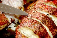 Vivaneau cuit au four Image stock