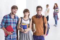 Vivant la vie d'université Images libres de droits