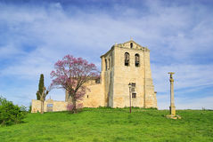 Vivar del Cid church Royalty Free Stock Photography