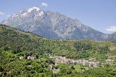 Vivario, Corsica Fotografia Stock