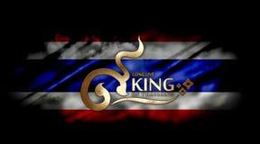 Vive de largo el rey Foto de archivo libre de regalías