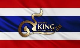 Vive de largo el rey Imágenes de archivo libres de regalías