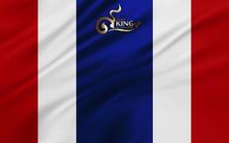 Vive de largo el rey Imagenes de archivo