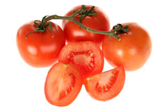 Vive Grown Salad Tomatoes Royalty Free Stock Photo