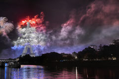 Vive la Frankrike! Arkivfoto