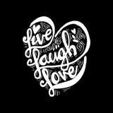 Vive o amor do riso Imagem de Stock Royalty Free