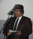 Vivek Singhania στην τελετή επηβραβεύσεων του Cluj κωμωδίας Στοκ φωτογραφία με δικαίωμα ελεύθερης χρήσης
