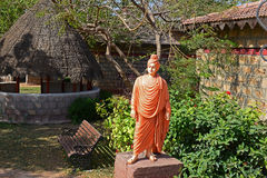 Vivekananda雕象  免版税库存图片