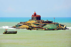 Vivekananda rock memorial, kanyakumari, india Royalty Free Stock Images