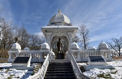 Vivekanandaheuveltje royalty-vrije stock afbeeldingen