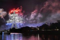 Vivela Frankrijk! Stock Foto
