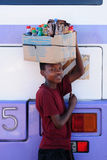Vivendo in Africa Fotografia Stock Libera da Diritti