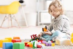 Vivendo all'ombra della malattia respiratoria dei bambini Immagine Stock