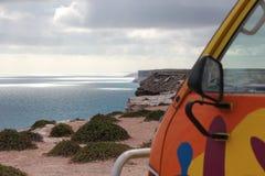 Vivendo na borda no Nullarbor, Austrália imagens de stock