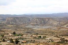 Vivendo nel deserto di Tabernas, la Spagna, Andalusia Immagine Stock