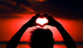 Vivent votre rêve, concept d'amour Photos stock