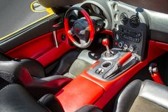 Viper Interior The 2018 Grand Prix week-end  event Stock Photo