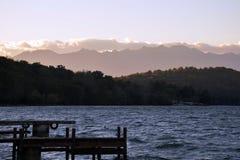 Viverone озера, Турин Италия Стоковые Изображения