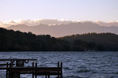 Viverone озера, Турин Италия стоковое фото