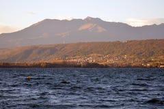 Viverone озера, Турин Италия стоковые фото