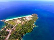 Viveros island. A beautiful island in the archipiélago of las perlas Panama stock photos